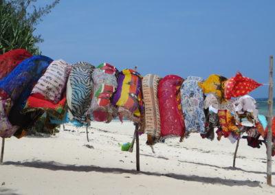 Diani Beach - Keniaanse stoffen