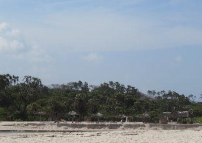 Diani Beach - Kongo rivier