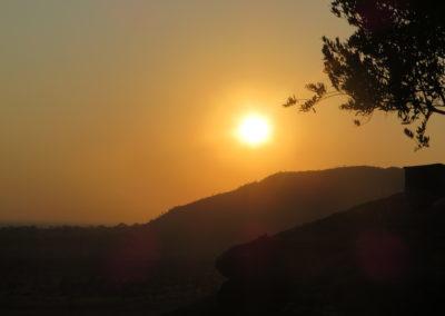 Tsavo East - Zonsondergang